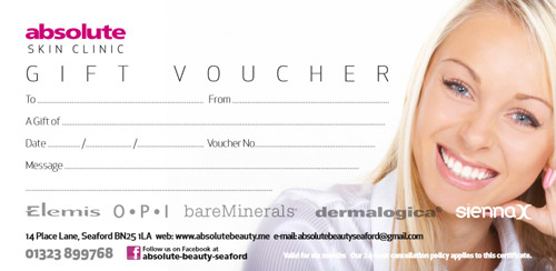 Absolute Beauty Gift Vouchers